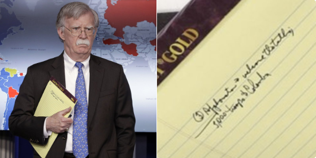 bolton's notepad