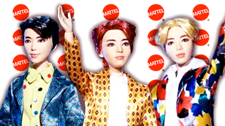 Fans Have Mixed Reactions To Mattel's BTS Dolls – Rogue Rocket